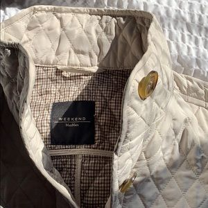 ◾️MaxMara Weekend◾️ quilted riding vest EUC